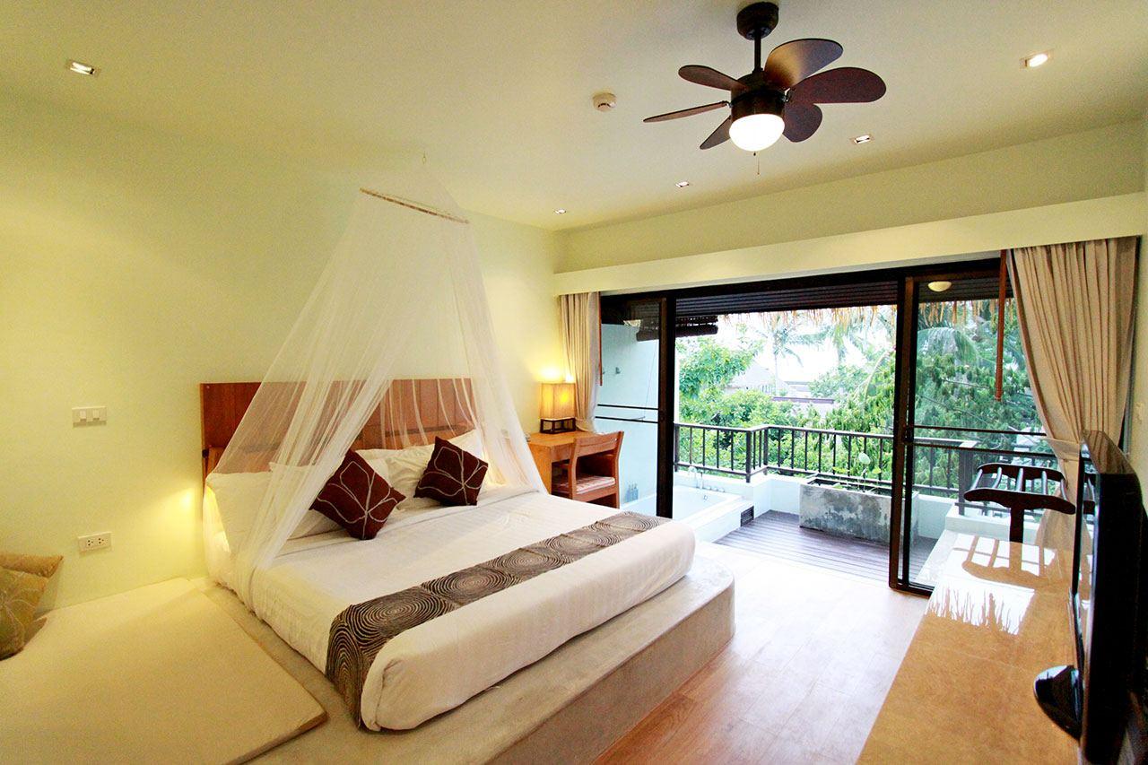 Lovers 39 jasmine jacuzzi lover deluxe mimosa resort spa koh samui 4 star beachfront resort - Jacuzzi de luxe ...